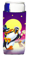 Buy this Just Married Wedding Penguins Michelob Ultra Beverage Insulators for slim cans APH0244MUK