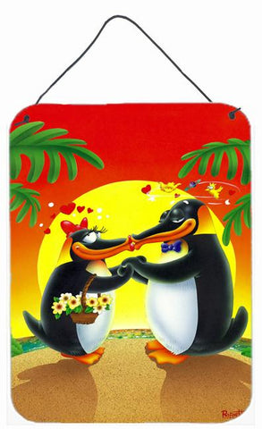 Buy this In Love Valentine's Day Penguins Wall or Door Hanging Prints APH0245DS1216