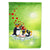 Buy this My Love Song Penguins Flag Canvas House Size
