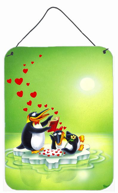 My Love Song Penguins Wall or Door Hanging Prints APH0246DS1216 by Caroline's Treasures
