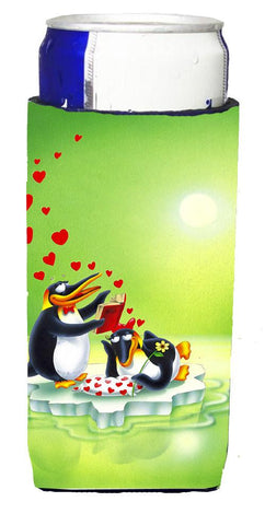 Buy this My Love Song Penguins Michelob Ultra Beverage Insulators for slim cans APH0246MUK