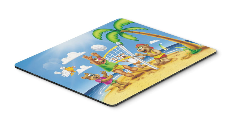Buy this Bears Playing Volleyball Mouse Pad, Hot Pad or Trivet APH0373MP