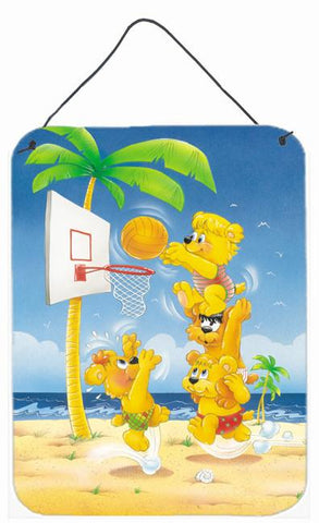 Buy this Bears playing Basketball Wall or Door Hanging Prints APH0388DS1216