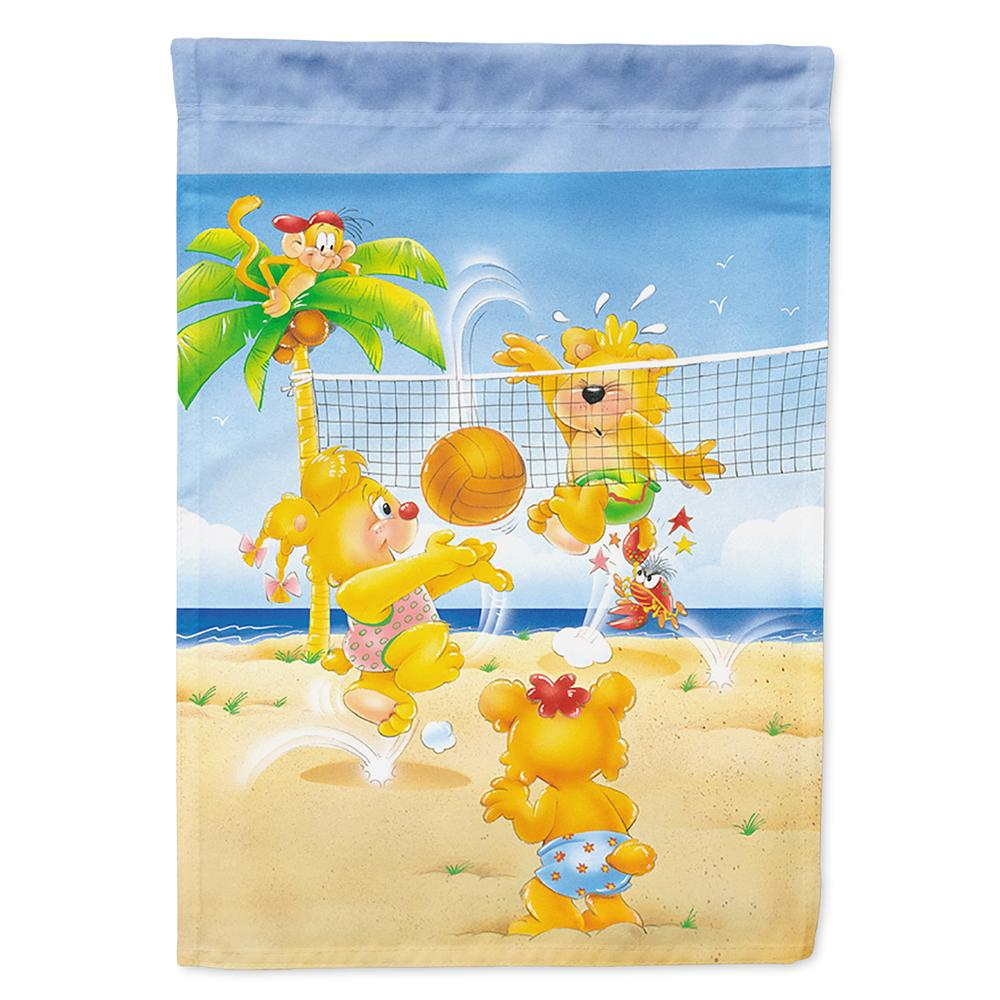 Buy this Bears playing Volleyball Flag Garden Size
