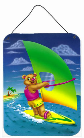 Buy this Teddy Bear Sailing Wall or Door Hanging Prints APH0416DS1216