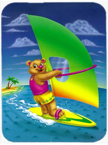 Buy this Teddy Bear Sailing Glass Cutting Board Large APH0416LCB
