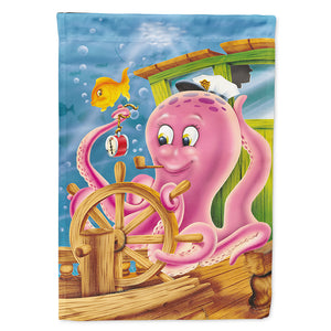 Buy this Captain Octopus Flag Canvas House Size APH0472CHF