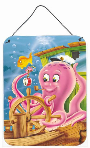 Buy this Captain Octopus Wall or Door Hanging Prints APH0472DS1216