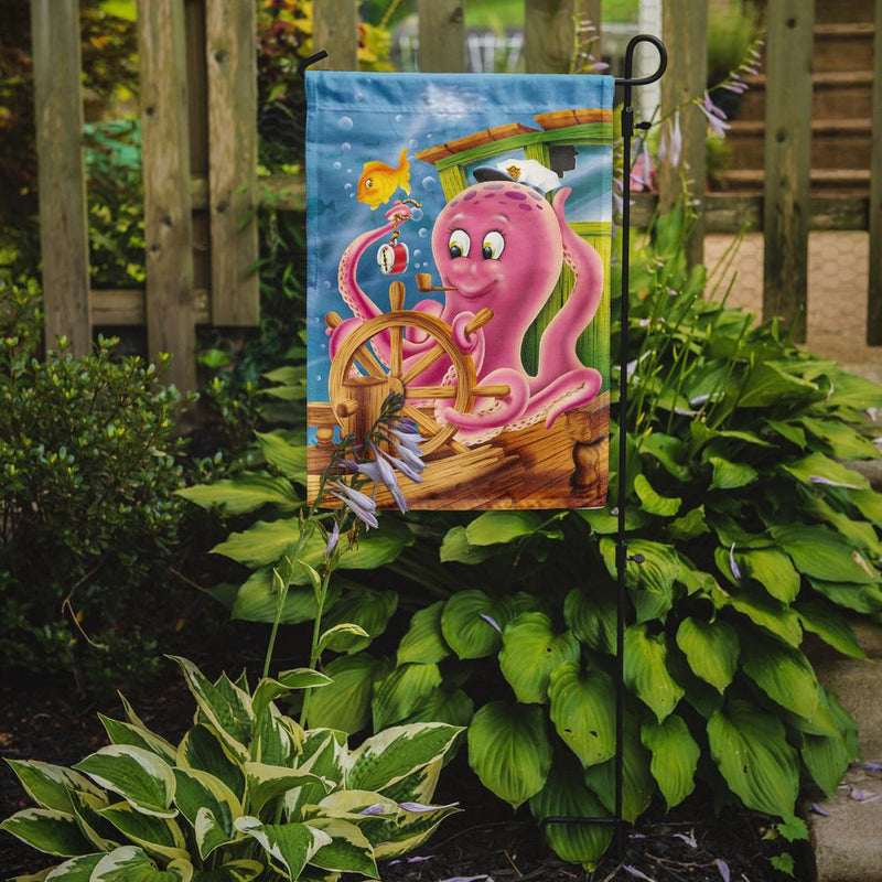 Buy this Captain Octopus Flag Garden Size