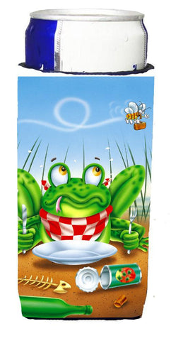 Buy this Frog Happy Plate Michelob Ultra Beverage Insulators for slim cans APH0520MUK
