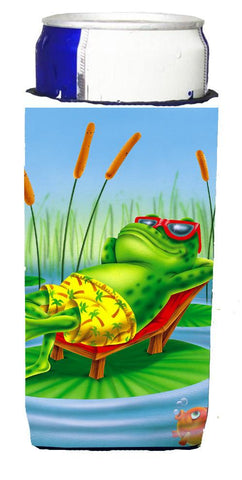 Buy this Frog Chilaxin on the Lilly Pad Michelob Ultra Beverage Insulators for slim cans APH0521MUK