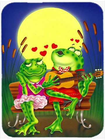 Buy this Frog Love Songs Glass Cutting Board Large APH0522LCB