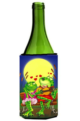Buy this Frog Love Songs Wine Bottle Beverage Insulator Hugger APH0522LITERK