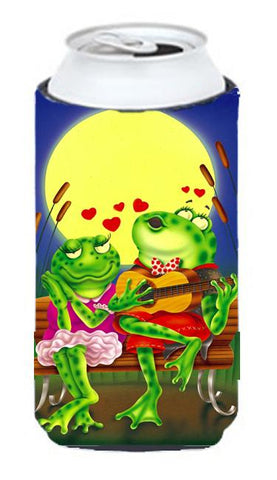 Buy this Frog Love Songs Tall Boy Beverage Insulator Hugger APH0522TBC