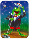 Frog Comedy Routine Mouse Pad, Hot Pad or Trivet APH0523MP by Caroline's Treasures