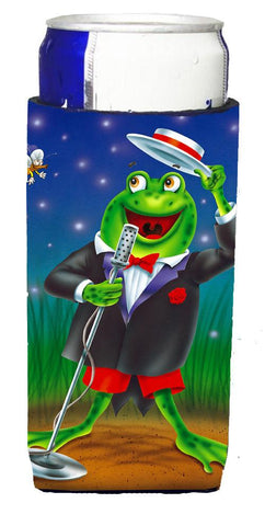Buy this Frog Comedy Routine Michelob Ultra Beverage Insulators for slim cans APH0523MUK