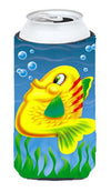 Yellow Fish Tall Boy Beverage Insulator Hugger APH0527TBC by Caroline's Treasures