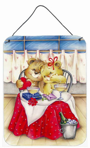 Buy this Teddy Bears In Love Valentine's Day Wall or Door Hanging Prints APH0926DS1216