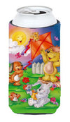 Play Time Animals Tall Boy Beverage Insulator Hugger APH0975TBC by Caroline's Treasures