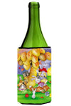 Animals under the coconut tree Wine Bottle Beverage Insulator Hugger APH0977LITERK by Caroline's Treasures
