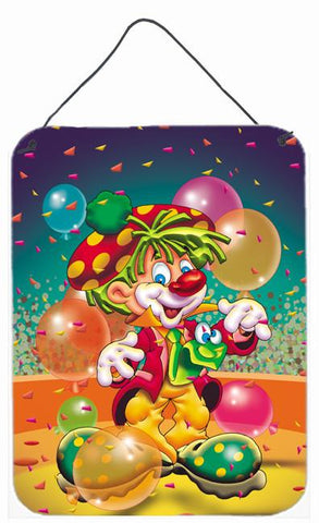 Buy this Happy Birthday Clown Wall or Door Hanging Prints APH1662DS1216