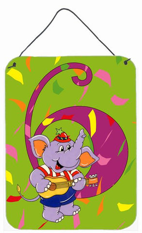Buy this Happy 6th Birthday Age 6 Wall or Door Hanging Prints APH2164DS1216