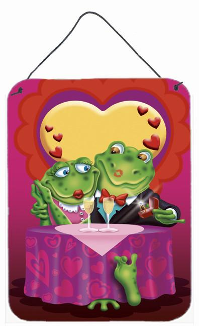 Buy this Frog Valentine's Day Date Wall or Door Hanging Prints APH2477DS1216