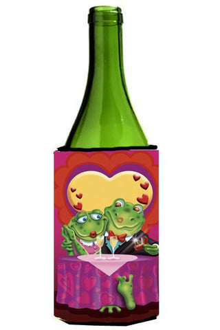 Buy this Frog Valentine's Day Date Wine Bottle Beverage Insulator Hugger APH2477LITERK