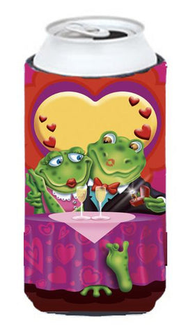 Buy this Frog Valentine's Day Date Tall Boy Beverage Insulator Hugger APH2477TBC