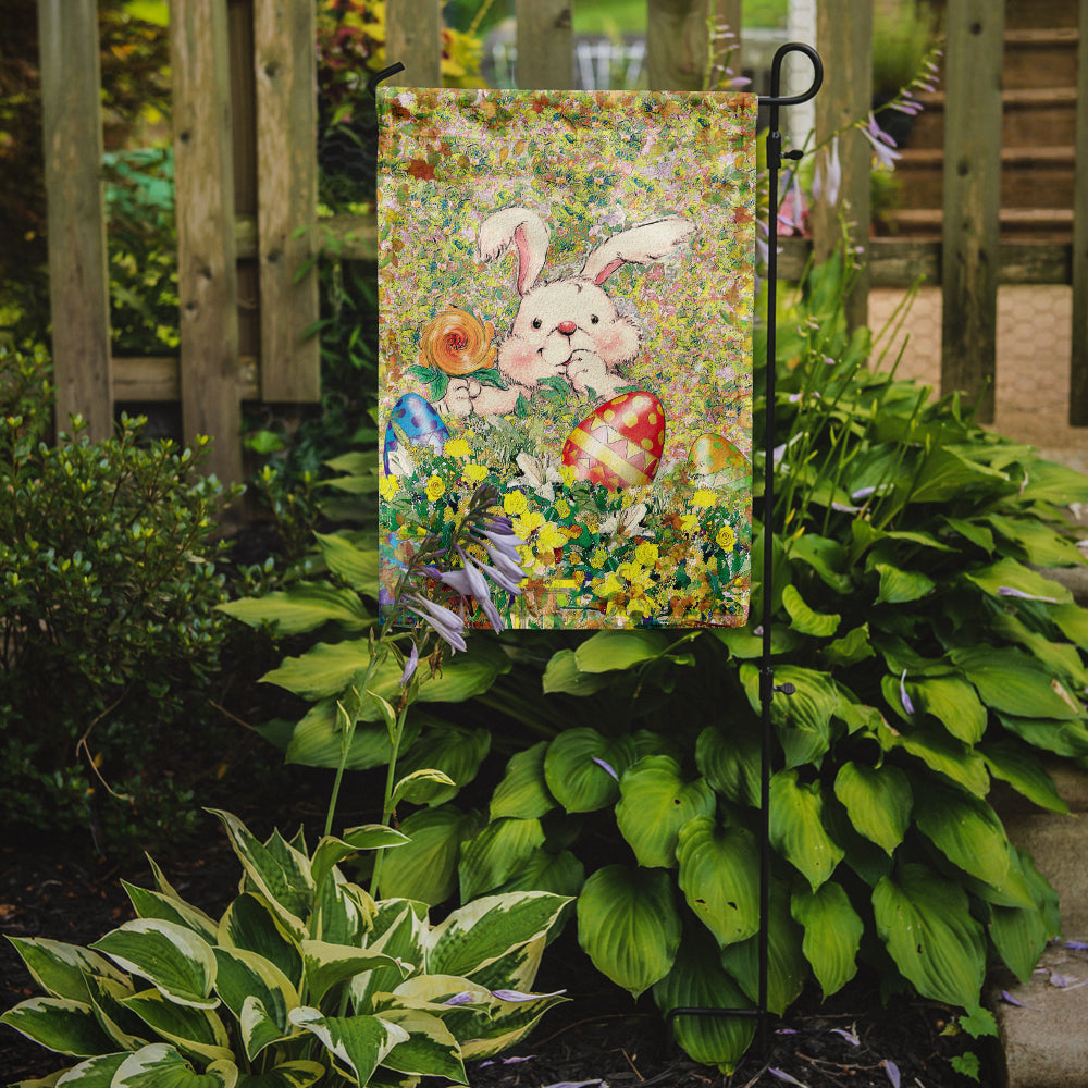 Easter Bunny and Eggs Flag Garden Size APH2954GF by Caroline's Treasures