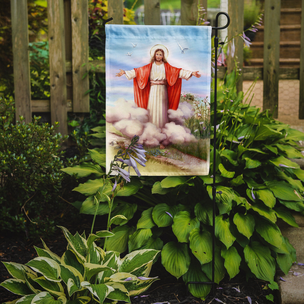 Easter Jesus is Risen Flag Garden Size APH3420GF by Caroline's Treasures