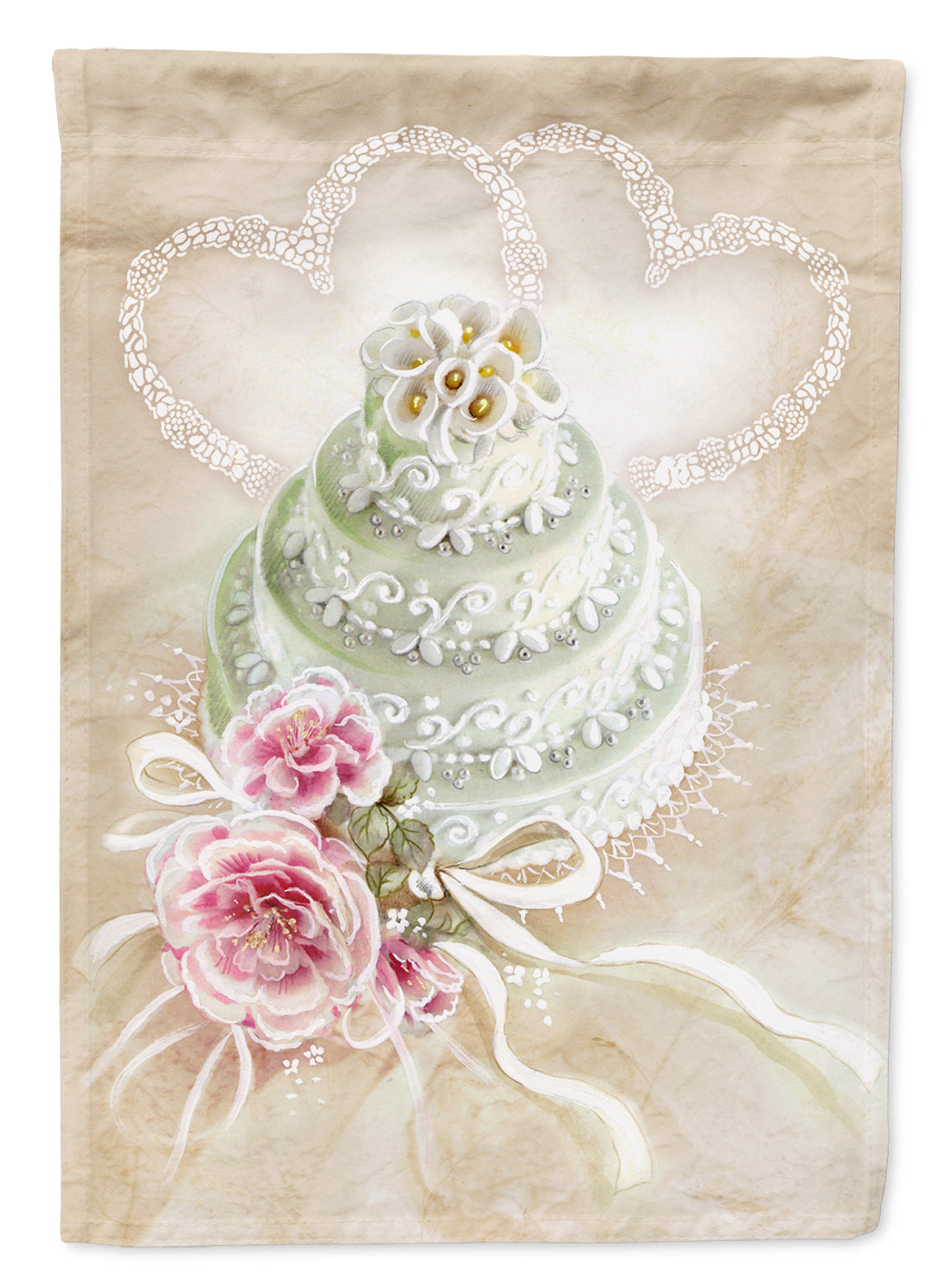 Buy this Wedding Cake Flag Canvas House Size APH3648CHF