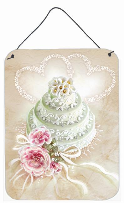 Wedding Cake Wall or Door Hanging Prints APH3648DS1216 by Caroline's Treasures