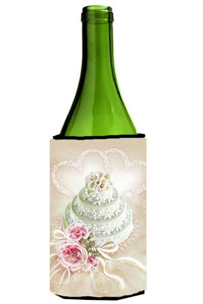 Wedding Cake Wine Bottle Beverage Insulator Hugger APH3648LITERK by Caroline's Treasures