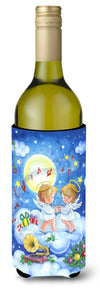 Angels Making Music Together Wine Bottle Beverage Insulator Hugger APH3790LITERK by Caroline's Treasures