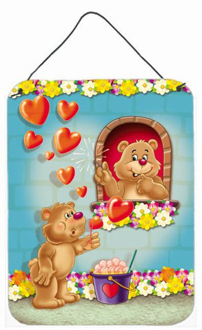 Buy this Teddy Bear Romeo and Juliet Love Wall or Door Hanging Prints APH3815DS1216