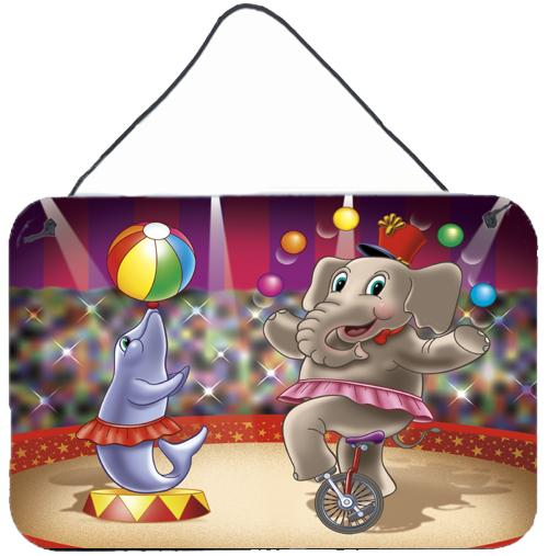 Buy this Circus Elephand and Dolphin Wall or Door Hanging Prints APH3816DS812