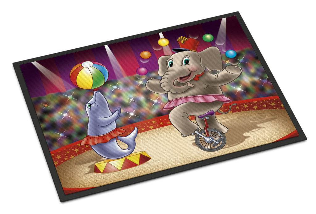 Buy this Circus Elephand and Dolphin Indoor or Outdoor Mat 18x27 APH3816MAT