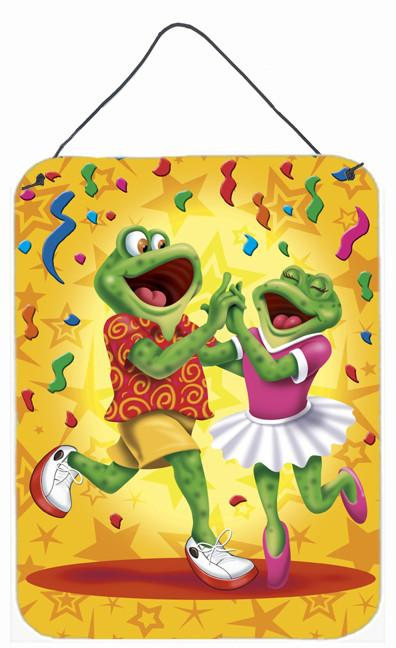 Buy this Frog Swing Dancing Wall or Door Hanging Prints APH3874DS1216