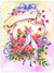 Wedding Bouquet Glass Cutting Board Large APH4070LCB by Caroline's Treasures