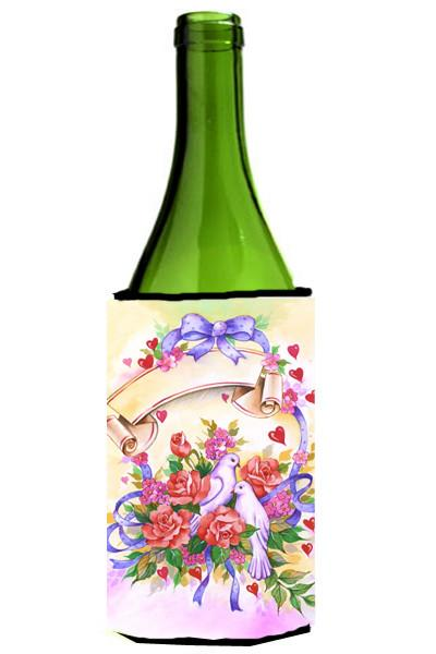 Buy this Wedding Bouquet Wine Bottle Beverage Insulator Hugger APH4070LITERK