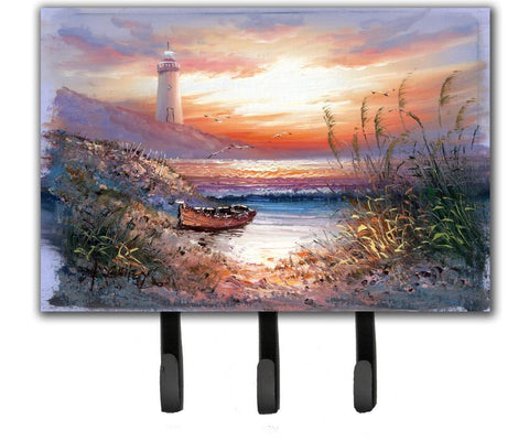 Buy this Lighthouse Scene with Boat Leash or Key Holder APH4130TH68