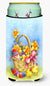 Easter Basket with Flowers Tall Boy Beverage Insulator Hugger APH4709TBC by Caroline's Treasures