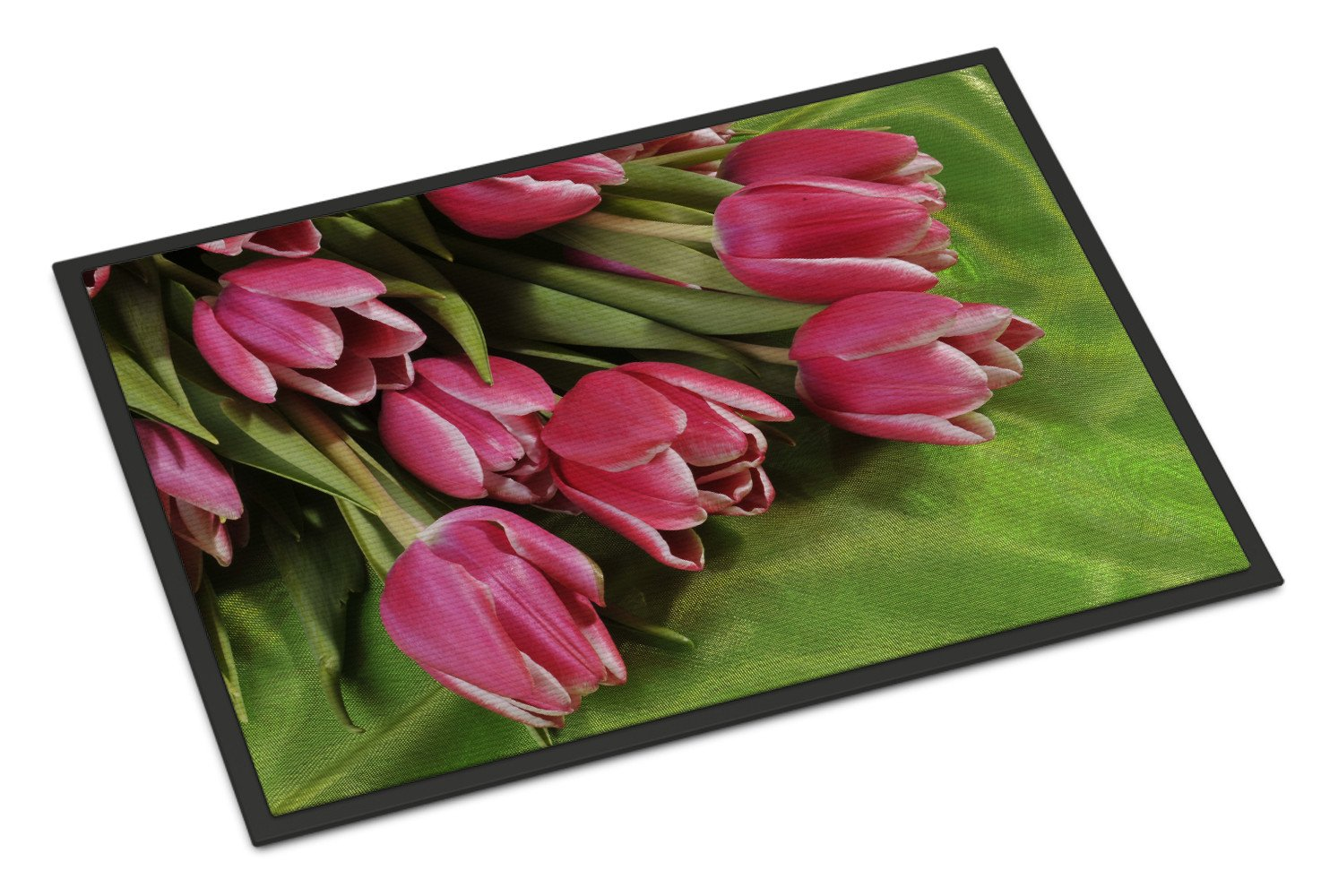 Buy this Pink Tulips Indoor or Outdoor Mat 18x27 APH5048MAT