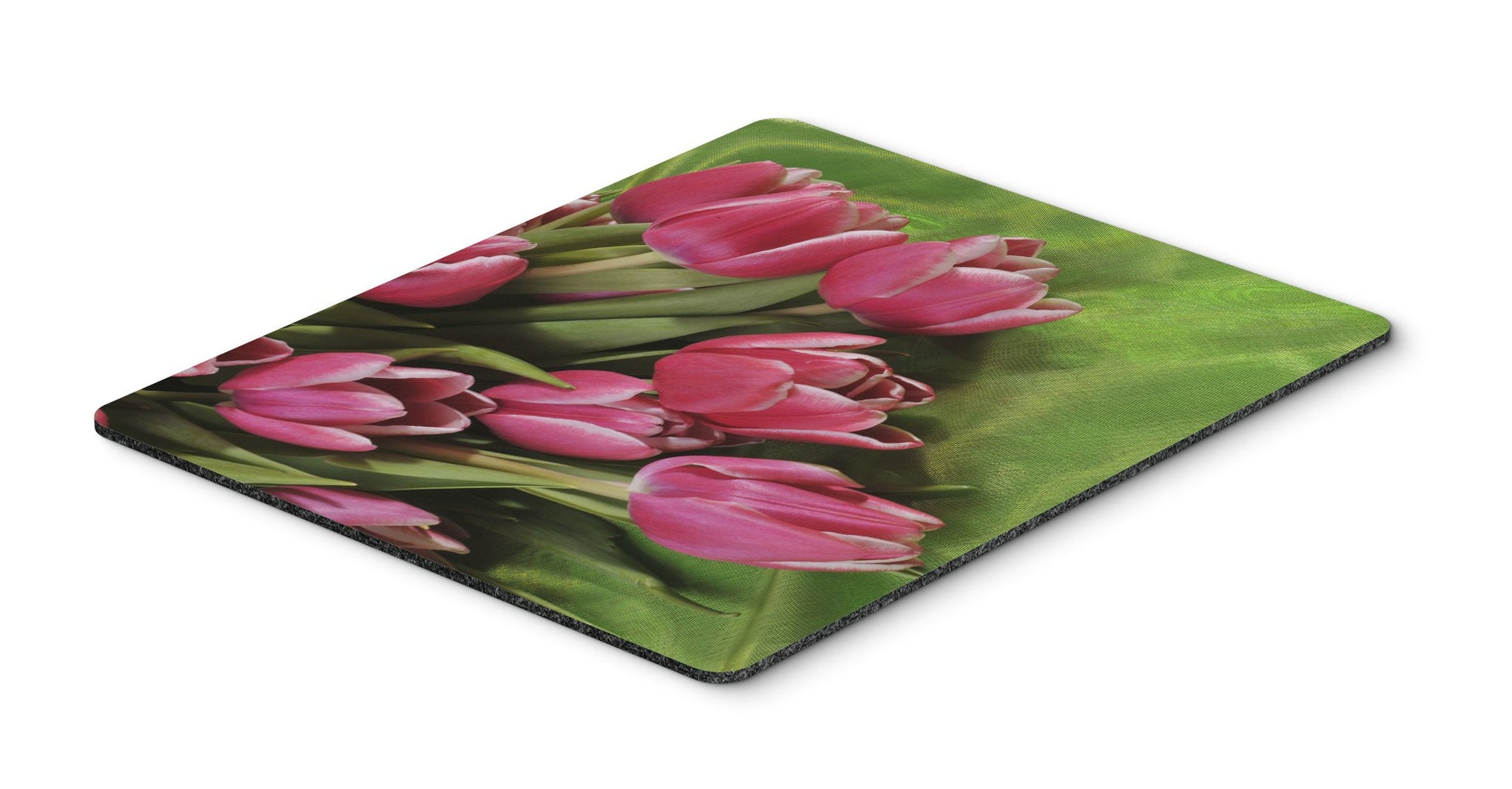 Buy this Pink Tulips Mouse Pad, Hot Pad or Trivet APH5048MP