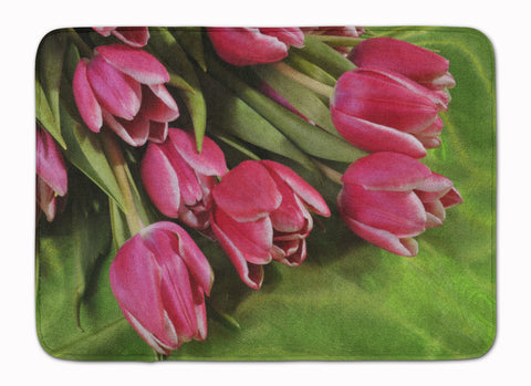 Buy this Pink Tulips Machine Washable Memory Foam Mat APH5048RUG