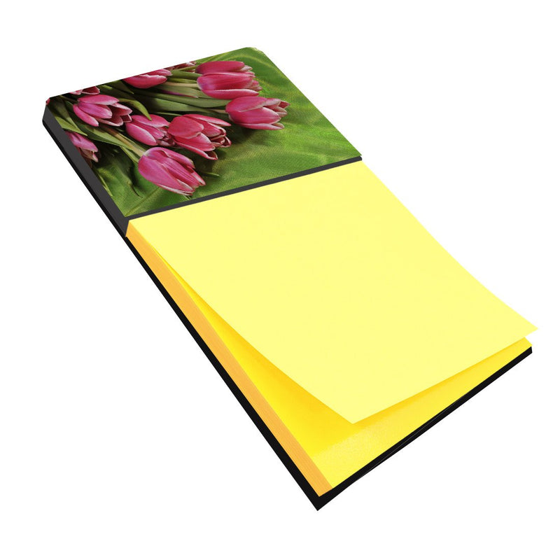 Buy this Pink Tulips Sticky Note Holder APH5048SN