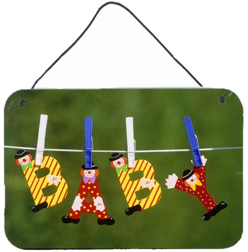 Buy this New Baby Clown Clothesline Wall or Door Hanging Prints APH5091DS812