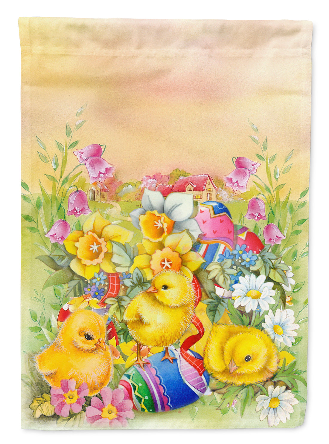 Buy this Easter Chicks and Eggs Flag Garden Size APH5613GF