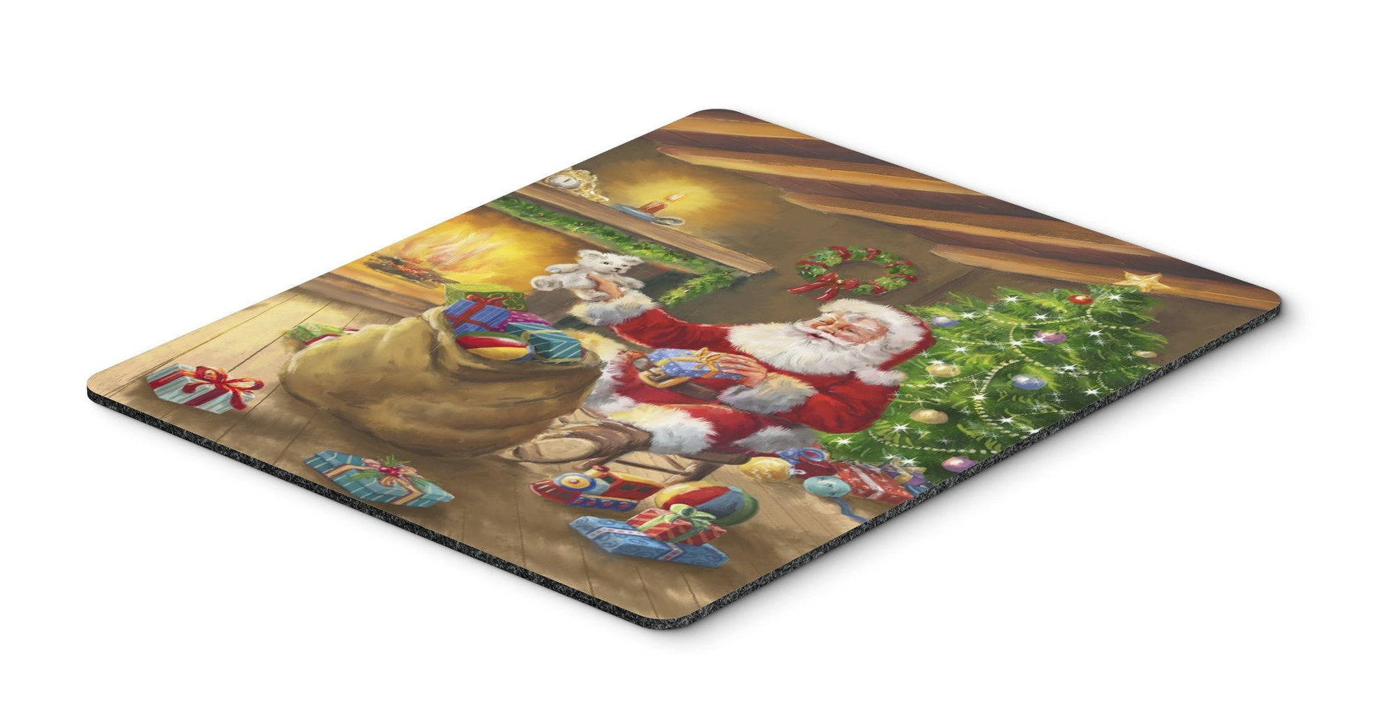 Christmas Santa Claus Unloading Toys Mouse Pad, Hot Pad or Trivet APH5793MP by Caroline's Treasures